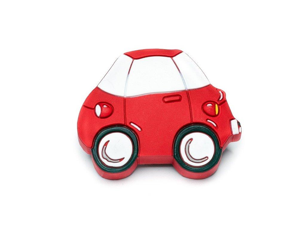 nabytkova detska uchytka auto cervene