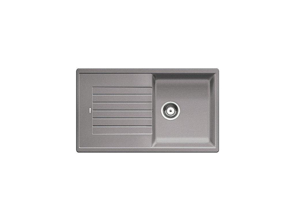 Kuchyňský granitový dřez Blanco ZIA 5 S aluminium  + Čistící prostředek BLANCO ANTIKALK 30 ml