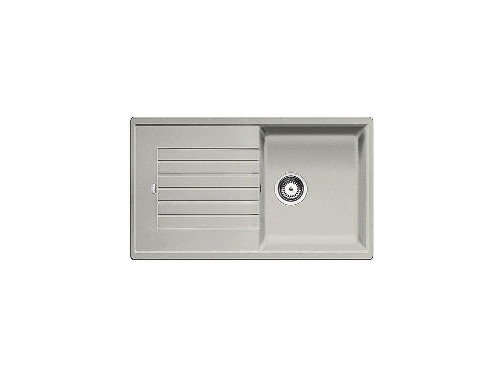 Kuchyňský granitový dřez Blanco ZIA 5 S perlově šedá  + Čistící prostředek BLANCO ANTIKALK 30 ml