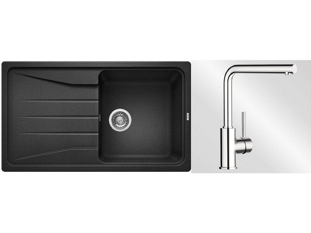 Kuchyňský set Blanco dřez SONA 45 S antracit + baterie Mila