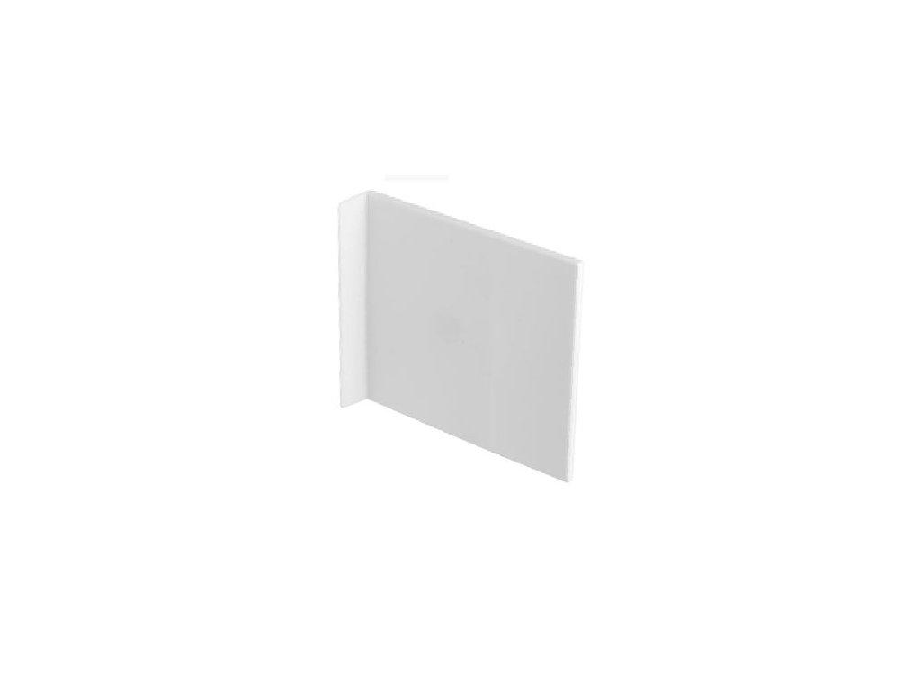 Krytka závěsu 807 RV bílá levopravá