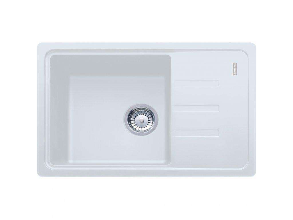Granitový dřez Franke MALTA BSG 611-62 Bílá led  + Vůně do bytu Areon 85ml