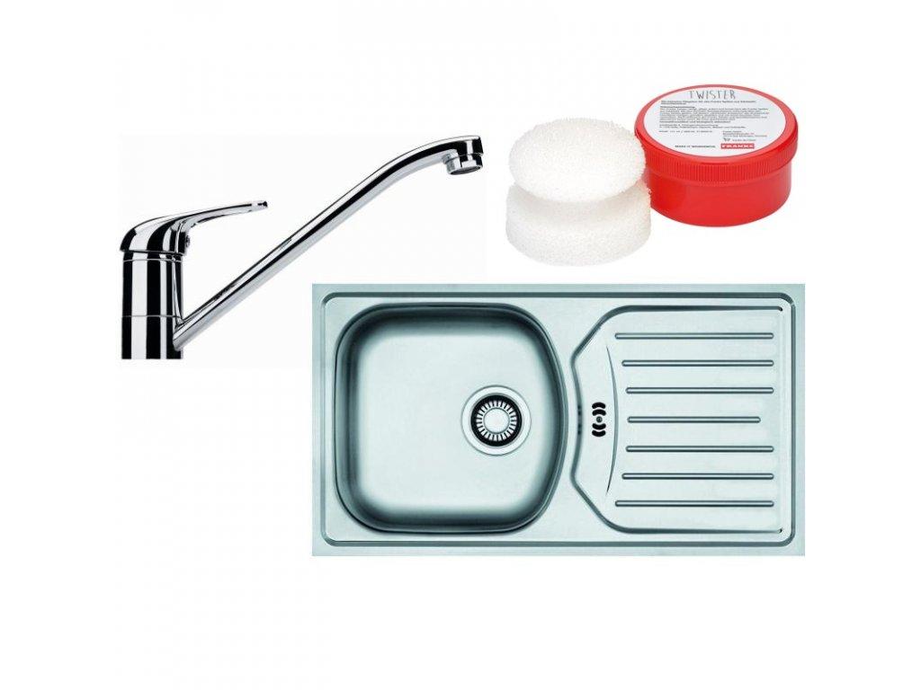 Kuchyňský set Franke N34 (dřez ETN 614 ETHOS 3 1/2 + baterie FB 250 + Twister)