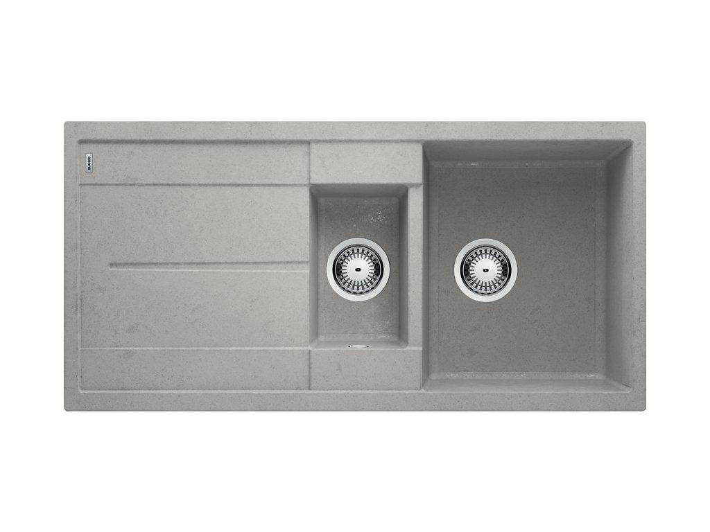 Kuchyňský granitový dřez Blanco METRA 6 S Beton-Style