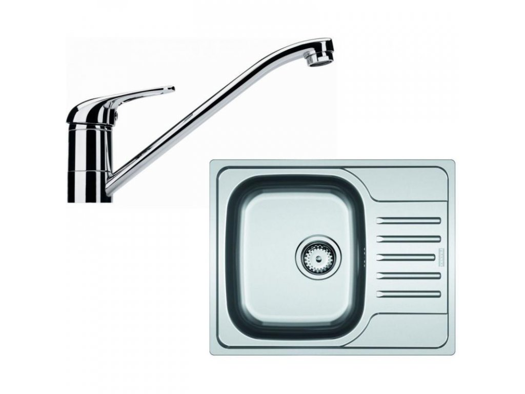 Kuchyňský set Franke N37 (dřez PXN 611-60 + baterie FB 250)