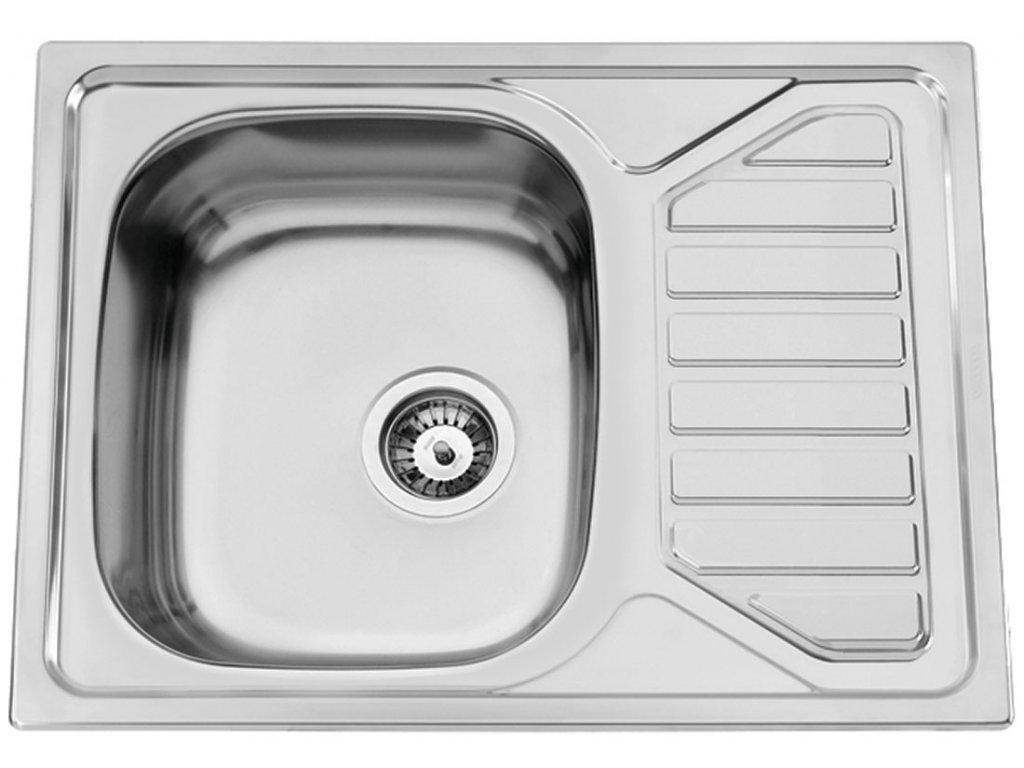 Kuchyňský nerezový dřez Sinks OKIO 650 V matný