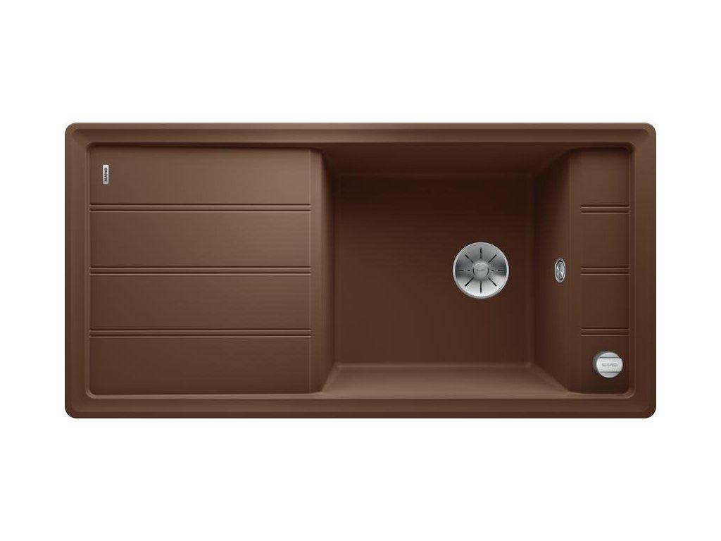 Granitový dřez Blanco FARON XL 6 S muškát s excentrem