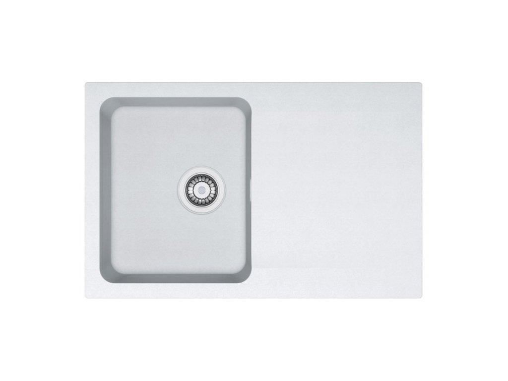 Kuchyňský dřez Franke Orion OID 611-78 Bílá