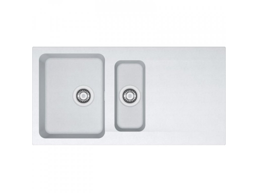 Kuchyňský dřez Franke Orion OID 651 Bílá  + Čistící pasta Franke Twister 125ml