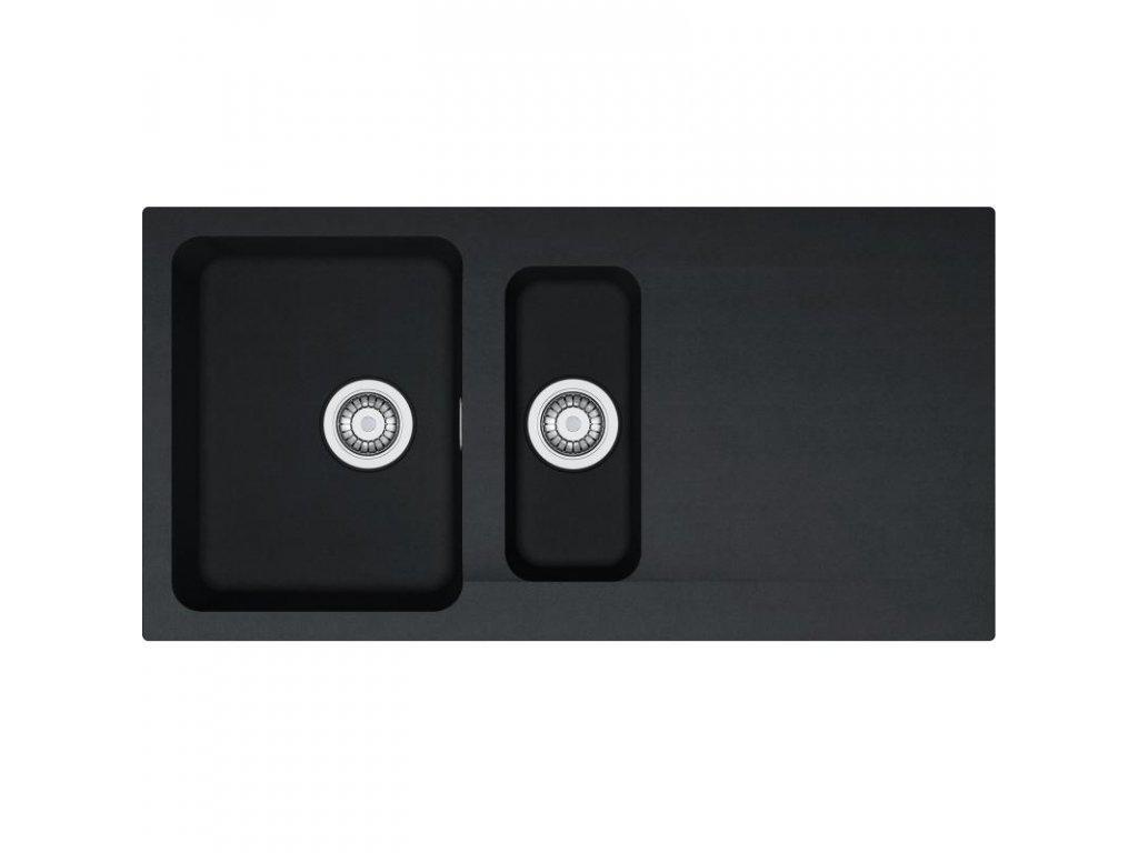 Kuchyňský dřez Franke Orion OID 651 Černá  + Vůně do bytu Areon 85ml