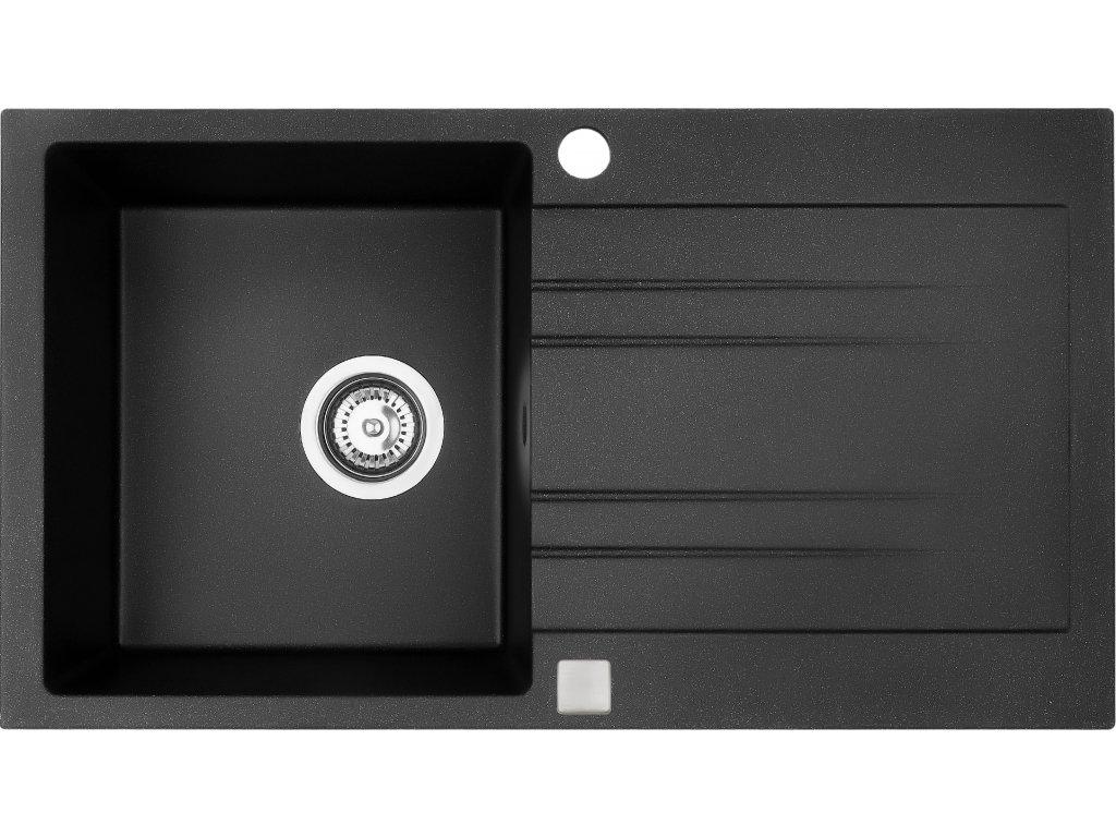 Granitový dřez Sinks RAPID 780 Granblack