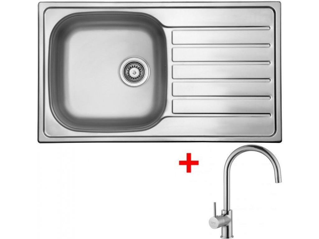 Akční set Sinks HYPNOS 860 V matný + baterie VITALIA