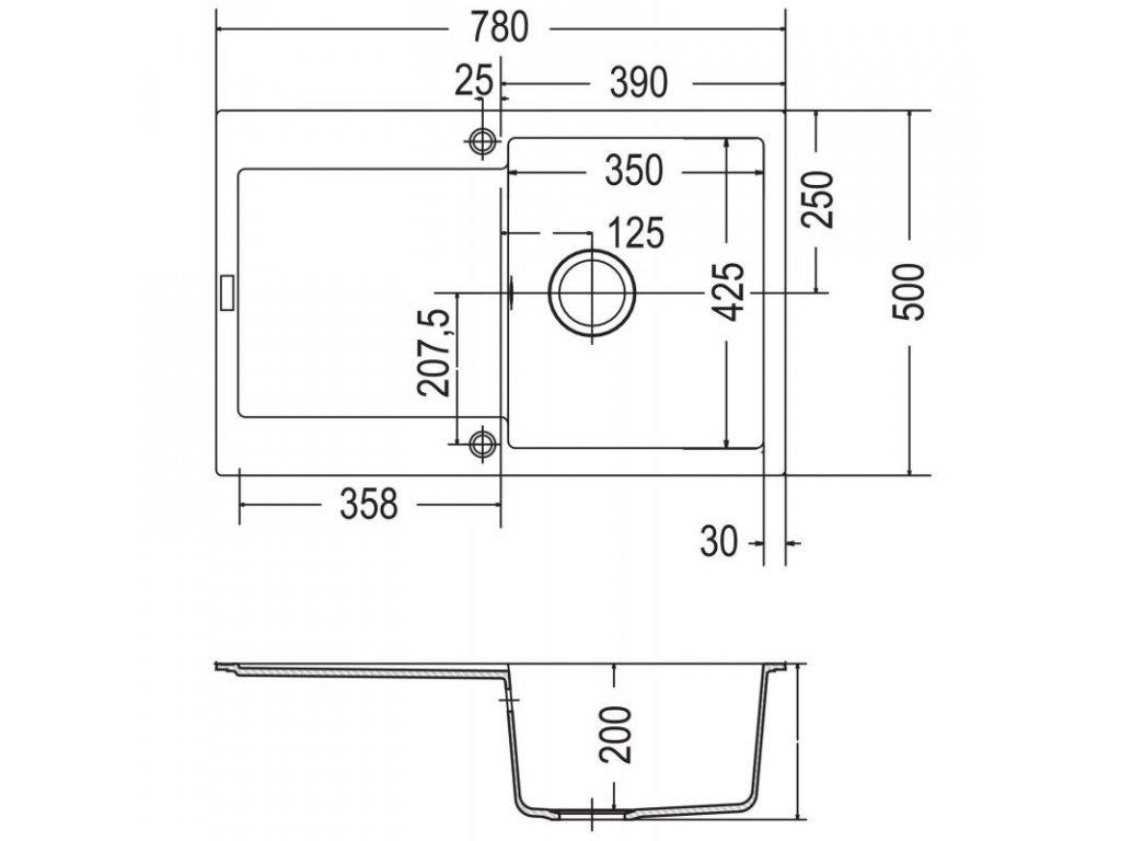 kuchy sk d ez franke maris mrg 611 p skov mel r v n do bytu areon 85ml. Black Bedroom Furniture Sets. Home Design Ideas