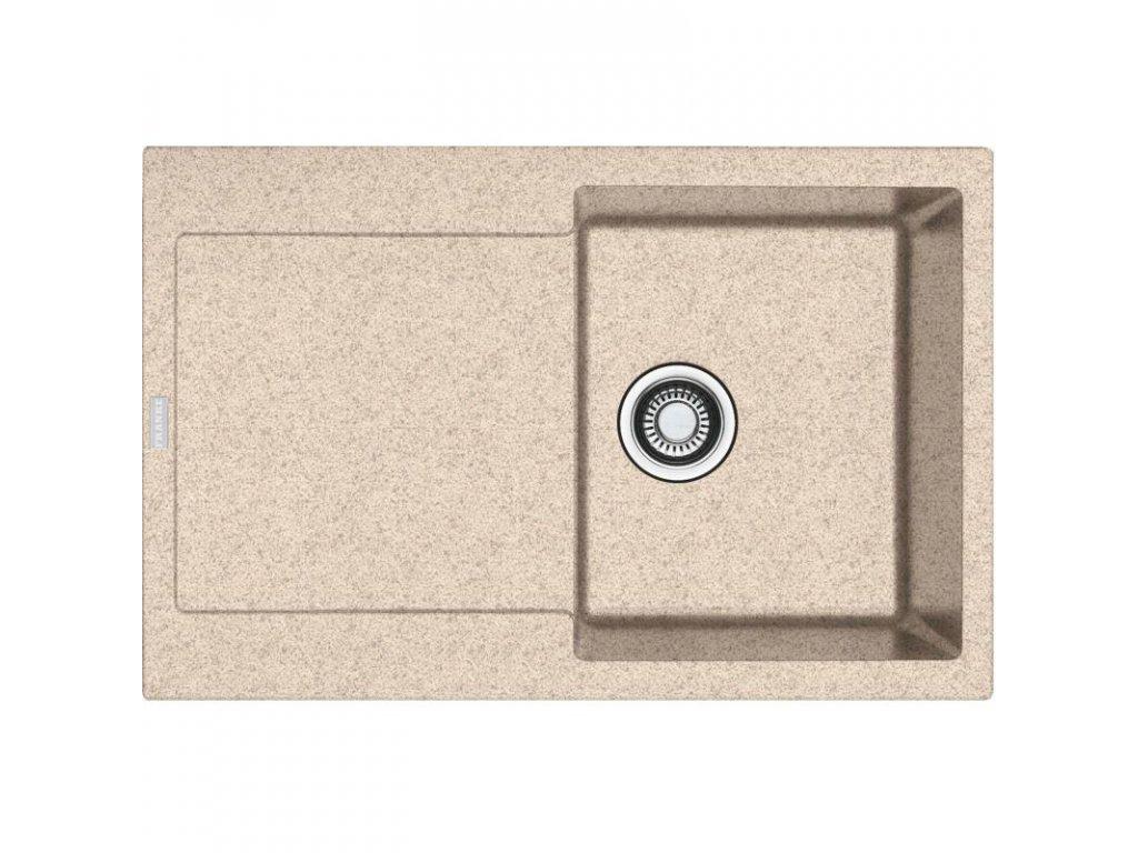 Kuchyňský dřez Franke Maris MRG 611 Pískový melír  + Vůně do bytu Areon 85ml