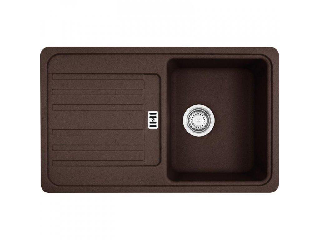 Kuchyňský dřez Franke Euroform EFG 614-78 Tmavě hnědá  + Vůně do bytu Areon 85ml