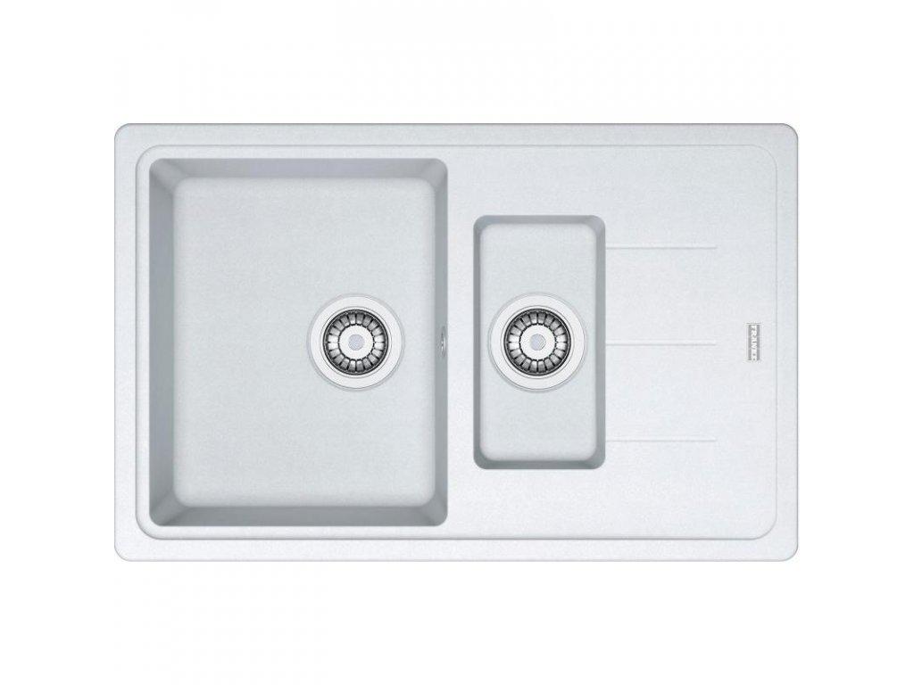Kuchyňský dřez Franke Basis BFG 651-78 Bílá led  + Čistící pasta Franke Twister 125ml