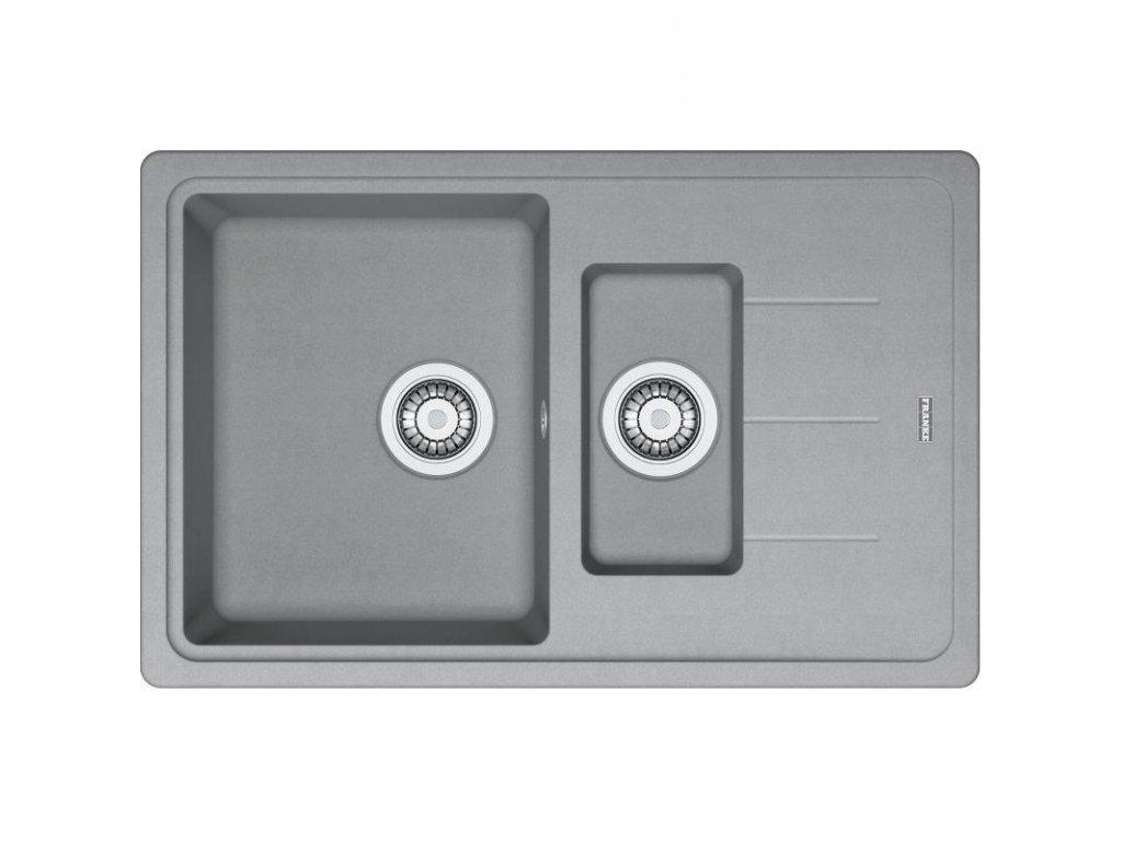 Kuchyňský dřez Franke Basis BFG 651-78 Šedý kámen  + Čistící pasta Franke Twister 125ml