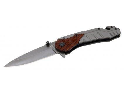 Nůž zavírací WOOD s pojistkou 21cm