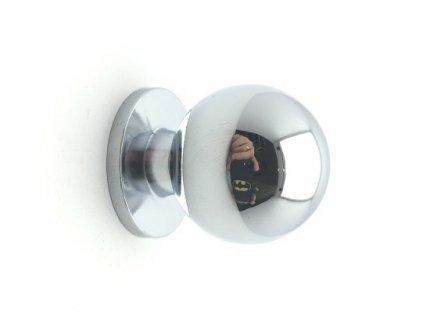 nabytkova knopka cleo piccolo chrom detail 1