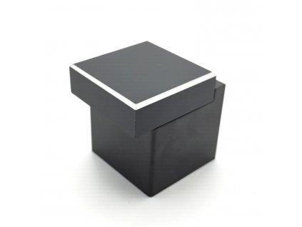 Nábytková knopka Modena černá matná