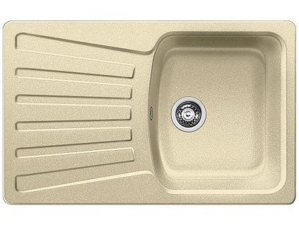 Kuchyňský granitový dřez Blanco NOVA 45 S béžová champagne  + Vůně do bytu Areon 85ml