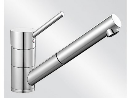 Kuchyňská baterie Blanco ANTAS-S HD chrom  + Čistící prostředek BLANCO ANTIKALK 30 ml