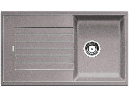 Kuchyňský granitový dřez Blanco ZIA 45 SL aluminium  + Čistící pasta Franke Twister 125ml
