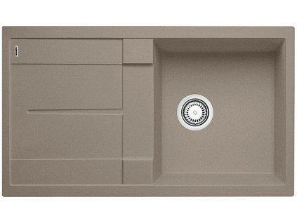 Kuchyňský granitový dřez Blanco METRA 5 S tartufo  + Čistící prostředek BLANCO ANTIKALK 30 ml