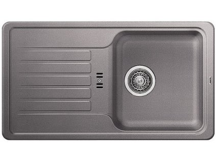 Kuchyňský granitový dřez Blanco FAVOS mini aluminium  + Čistící prostředek BLANCO ANTIKALK 30 ml