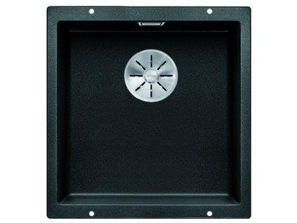 Kuchyňský granitový dřez Blanco SUBLINE 400-U antracit  + Čistící prostředek BLANCO ANTIKALK 30 ml