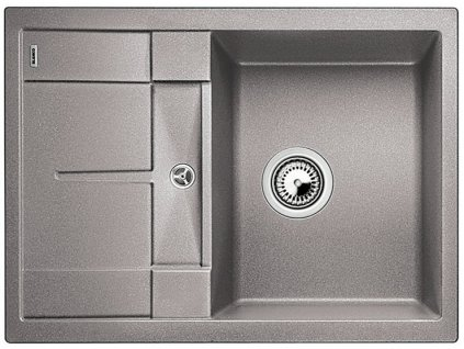 Kuchyňský granitový dřez Blanco METRA 45 S Compact aluminium