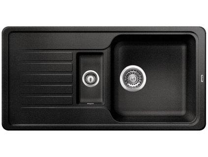 Kuchyňský granitový dřez Blanco FAVOS 6 S antracit  + Čistící prostředek BLANCO ANTIKALK 30 ml