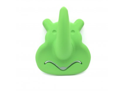 Nábytkový dětský věšák Nosorožec zelený