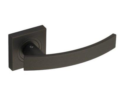 Dveřní klika rozetová FUTURE grafit černá