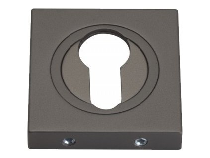 Dveřní rozeta typ 25KW PZ grafit černá