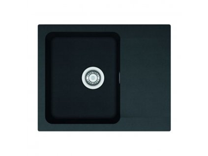 Tectonitový dřez Franke Orion OID 611-62 Černá  + Čistící pasta Franke Twister 125ml