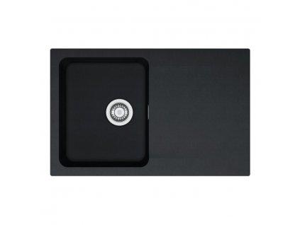 Kuchyňský dřez Franke Orion OID 611-78 Černá  + Čistící pasta Franke Twister 125ml