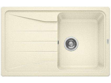 Kuchyňský granitový dřez Blanco SONA 45 S jasmín  + Čistící prostředek BLANCO ANTIKALK 30 ml