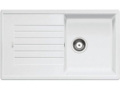 Kuchyňský granitový dřez Blanco ZIA 5 S bílá  + Čistící prostředek BLANCO ANTIKALK 30 ml