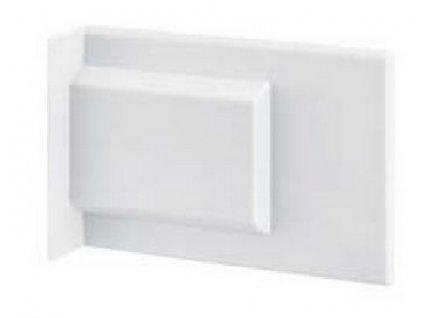 Krytka závěsu 807 XL bílá levopravá