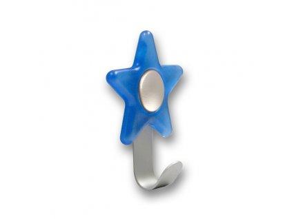 Nábytkový dětský věšák Hvězdička modrá