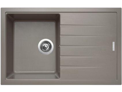 Granitový dřez Sinks BEST 780 Truffle  + Sinks čistící pasta