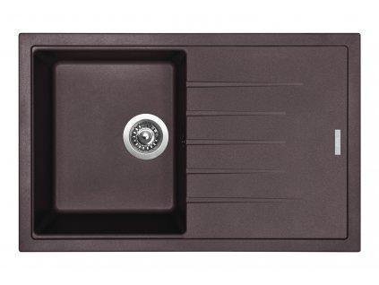 Granitový dřez Sinks BEST 780 Marone  + Sinks čistící pasta