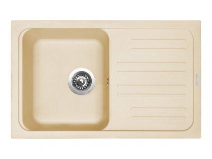 Granitový dřez Sinks CLASSIC 740 Sahara  + Sinks čistící pasta