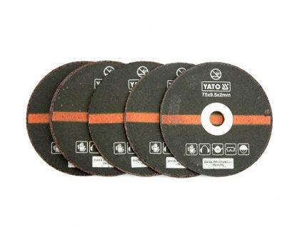 Souprava kotoučů pro řezání kovu 5 ks