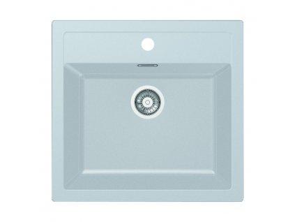 Tectonite dřez Franke Sirius SID 610 Bílá  + Čistící pasta Franke Twister 125ml