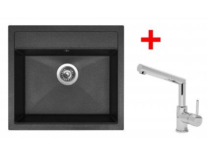Akční set Sinks SOLO 560 a baterie MIX 3 P Granblack  + Vůně do bytu Areon 85ml