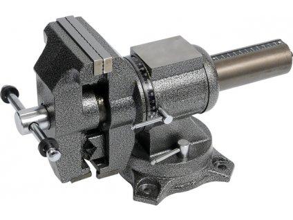 Svěrák zámečnický otočný 125 mm 20 kg polohovací