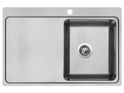 Kuchyňský nerezový dřez Sinks BLOCK 780  + Vůně do bytu Areon 85ml