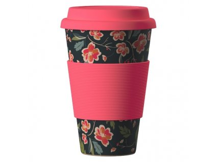 Bamboo Cup 400ml - Japanes Cherry